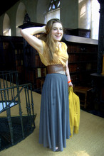 Cassiopeia LP - French Connection Uk Grey Jersey Maxi Skirt - Working the maxi skirt