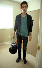 Ryan Ramsay Bennett - Nudie Jeans, American Apparel Bag, American Apparel Shirt, American Apparel Jacket, Bang On? Shoes - Travailler
