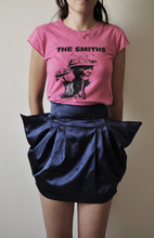 MISS MARS CLOTHING - The Smiths Meat Is Murder Tshirt, Miss Mars New Collection Mc Galactic Skirt In Blue - The smiths.
