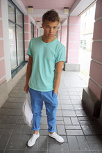 Andreas Wijk - Weekday T Shirt, Cheap Monday Chinos, Acne Studios Bag, Acne Studios Shoes - This is how I make a dark day bright.