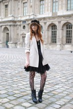 Louise Ebel - Zara Jacket, Zara Dress, Topshop Boots - Louvre