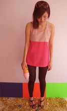 Gracie Moi - High Shine Leggings, Vintage Shades, 4fore Brightest Top - Musing with colors