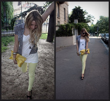 Veronica Ferraro - Chanel Necklace, H&M Shirt, Brandy Pochette, Zara Pants - Coming back from polls
