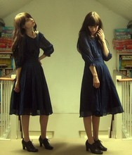 Laura Gommans - Topshop Blue Dress - One of my favourite dresses