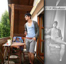 Daniel Woofus - H&M Long Made Short., Original Basque Viva La France - Dont disturb the frenchman while smokin!