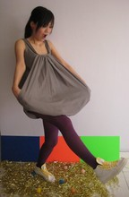 Gracie Moi - Adidas Sneakers, 4fore Grey Dress - I love it!