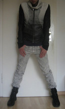 Pady - - Rick Owens Aviator Leather Jacket, Dior Homme Jeans, Dior Homme High Top Sneakers - Feeling Sci Fi?