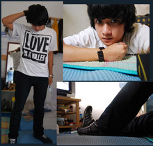 Bujas (Beeeee) - Insight Tees, Louis Vuitton Pants, Adidas Sneakers - Coz im lonely and im tired...II