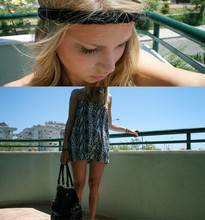 Milla K - 2hand Headband, Gina Tricot Dress/Top, Leather Bag - .