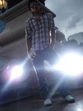 EDUARDO ZARZA - Pull & Bear Denim Shirt, Guees Blue Jeans, Lacoste Tennis - LigHts blindEd Me....