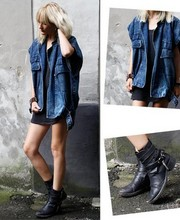 Marie Hindkær Wolthers - Vintage Jacket, Haider Ackermann Boots - 23072009
