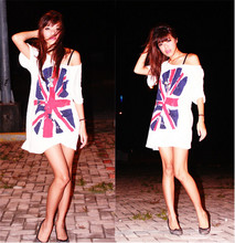 Jen Hsu - Platinum, Bangkok British Flag Shirt, Bayo Grey Heels With Tiny Ribbon, Bangkok Silver Bow Necklace - You know that I could use somebody, someone like you.