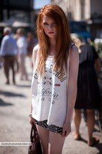 Filippa Smeds - My Dad's Top, Topshop Dress - Fashionweek by berns