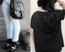 Tamara Cordon - Diy Shirt, Bluebird Messenger Bag, Siren Buckle Shoes - We are gods, we are wolves