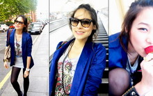 BOOM W. - Platinum Blue Jacket, Topshop Long Shirt - First LOOKS...