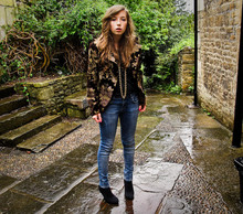 Zo Dsjgyfjakhsg - Zara Jacket, Topshop Jeans, Boots - I could have been a contender