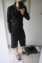 David ****** - Kris Van Assche Shirt, Kris Van Assche Shorts, Neil Barrett Shoes - Buuuuhhh