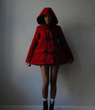 Signe S - Monki Coat - LITTLE RED RIDING HOOD