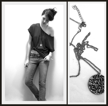 Natalie Elyse - Forever 21 Stonewash Jeans, Forever 21 Basic Top, Silver Coin Necklace - Some are just born broken...