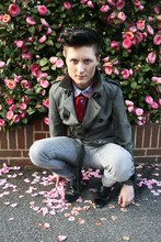 Benjamin Alexander Rhodes - Topman The Old Trench Coat, H&M Grey Loose Skinny Jeans, Burtons Winkle Pickers, Topman Tie Detail, H&M Checked Shirt - Undisclosed Desires