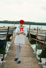 Elin . - Vintage Hat, My Fathers, From The Army Sailor Uniform, H&M Tights, My Mothers Old Ones Shoes - Sailor