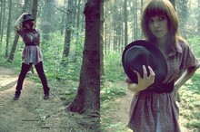 Aleksandra T. - Atmosphere Shoes, No Name Belt, It's My Dad Shirt, From Cracow Hat, Bershka Trousers - Like a Robin Hood