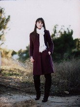 Kaysea Boston - M. Amazing Winter Coat With Fur Collar, Ny&Co Scarf, Boots - It's a walk in the park.