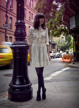 Rhiannon Leifheit - Lover Dress, Target Tights, Dolce Vita Shoes - New York!