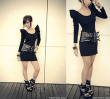 Dawn P. - Bysi Dress, H&M Belt Of Belts, H&M Shoes - Buckle up. Hold on tight.