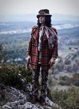 Un Passant - Mark And Spencer Pull, Vintage Pants, Vintage Coat - Birdyly here