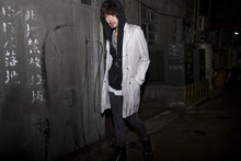 AD Huang - Abahouse Coat, Hoodie, Cheap Monday Pant, Boot - Dark alley