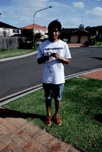 Mike Angeles - The Hundreds 5th Tee, D&G Vintage Watch, Acne Studios Leather Belt, Cheap Monday Cutoff Jeans Shorts, Visvim - Sydney Sydney oh Sydney
