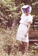 Aprilskyar / - Mask, Second Hand Dress - Where some lullabies are dancing with the fairies.