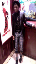 Eric Barmore - Fathers Top Hat, Guess? Wing Necklace, H&M Black Blazer - I love to explore new cultures!