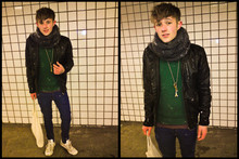 Thomas Mudra - Cheap Monday Skinny Jeans - Sorry, outside was a Blizzard.