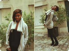 Carrie Parango - Zucca Gilet, Sandro Tshirt, Hype Means Nothing Sac - Girls just wanna have fun