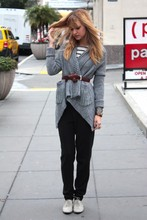 Liz Sampson - Zara Sweater, Vince Trousers, Vintage Oxfords - At ease