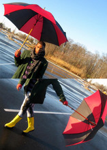 Eric Barmore - H&M Black/Grey Scarf, Green Blazer, J. Crew Yellow Rainboots - LONDON IN THE RAIN best quality