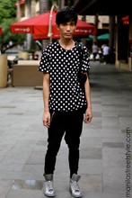 Chi Kotur - 5cm Shoes, Mango Pants, Thrift Shop Shirt - Manilastreetstyle.com