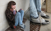 Molly Madness - Vintage Shoes, Bdg Jeans, Vintage Faux Fur Coat - Cry ! Baby !