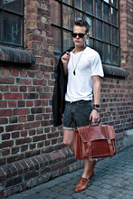 Jim Karlsson - Ray   Ban Wayfare, Acne Studios Pop Classic, Vailent Jacket, Whyszeck Denim Shorts, Wood Neckless, Shoo Leather - Don't know what to do, just turned 22