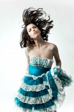 Jaclyn Stacey - Betsey Johnson Lace Dress - Dancing in a mindfield with a bottle of whiskey