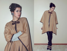 Brigitte Feld - Zara Cape, Herrlichter Trouser, Asos Shoes, Mango Earrings - Don't Take My Cape