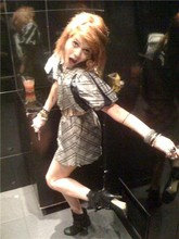 Giselle B - The Thai Room  Mums Dress, Mums Belt, Mollini Boots Circa 07 - Shake it up baby.. Twist and shout!
