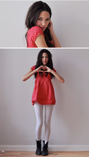 Signe S -  - Heartdotted Valentine's dress.