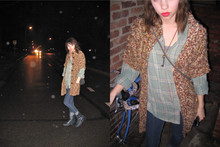 Molly Madness - Anthropologie Sweater, Daddy's Old Flannel - Dear mother.