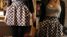 Hannah L - Hearts And Bows From Ark Spotty Skirt, Asda Vest - I keep this pillow it's such a poor substitute