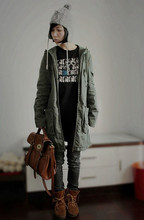 Vicky Ying - American Eagle Hat, H&M Coat, Viva Jeans, Minnetonka Boots - Tomboy