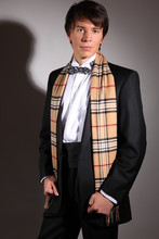 Andreas M. - Tom Ford Favorite Bow Tie, Burberry Favorite Scarve, Black Kummerbund, Bespoke Smoking - Maybe never forever