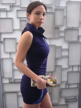 Noelle De Guzman - Ilana Tailored Minidress, Ilana Patchwork Clutch - The New Power Dressing